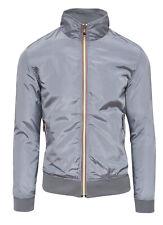 Jacket Men's Jacket Casual Grey Slim Fit Summer Jacket Motorcycle Waterproof