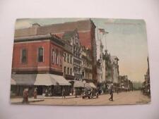 ANTIQUE RPPC PHOTO MARKET STREET HARRISBURG PA POSTED 1911
