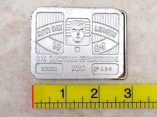 Anti sex LEAGUE 1984 citoyen en aluminium 112 Boucle de ceinture Big brother is watching U