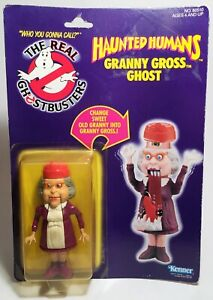 The Real Ghostbusters Haunted Humans Granny Gross Ghost Action Figure Kenner