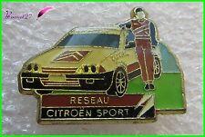 Pin's Voiture Réseau Citroën Sport total #285