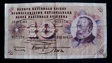 Switzerland 10 Francs 1965