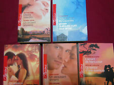 ** Lot 5 Livres HARLEQUIN - Double - Collection Passions