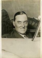 """""""Malcom CAMPBELL 1932"""" Photo originale G. DEVRED (Agce ROL)"""