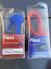 Flexi Mobile Tail Stand Keeps Your Mobile Device Upright ((Red Or Blue)