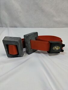 Professional Weighted Dive Belt 2 Lead 5 lbs Weights Total 10 Pounds