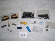 N Scale Scenery Accessories Lot #1708 Tomytec Construt. Truck Bus  Lighted Signs