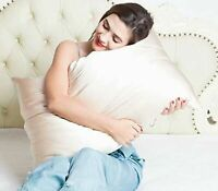 BlueHills Pure Mulberry Soft Silk Pillowcase for hair and skin -Bronze Gold King