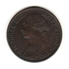 1865 Great Britain Queen Victoria 1 One Farthing. AU High Grade.