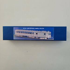 NU-Cast LNER Sentinel Railcar Kit 4mm 00 Gauge