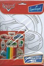 Jurassic Park Cute Dinosaur Party Supplies Colouring Set, Stickers & Pencils