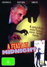 A FEAST AT MIDNIGHT, CHRSTOPHER LEE, ROBERT HARDY, ALL REGIONS, NEW AND SEALED