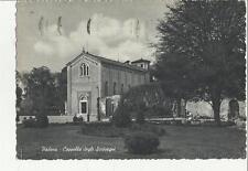 vecchia cartolina di padova cappella degli scrovegni