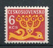 TCHECOSLOVAQUIE - 1972, timbre TAXE 113, FLEURS, neuf**