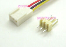 KF2510 2.54 3-Pin female housing Connector Plug wire & Male PCB Header 10 SETS