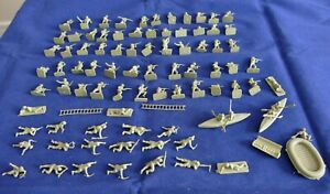87 petits soldats 1/72 WWII Kayaks, bateau - Small soldiers WWII - Airfix ?