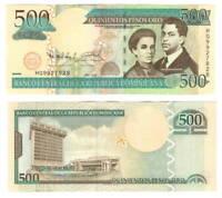 DOMINICAN REPUBLIC UNC 500 Pesos Oro Banknote (2010) P-179c Paper Money