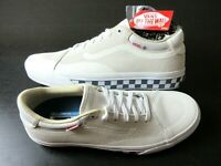Vans Mens TNT Advanced Prototype Checkerboard Skate shoes Marshmallow Size 9 NWT