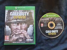 CALL OF DUTY WWII Microsoft Xbox One Game