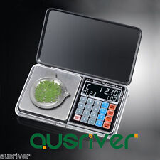 New 500g/0.01g High Precision Digital Pocket Scale Jewelry Scales Weight Poise