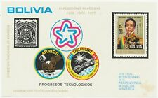 BOLIVIA 1975, Apollo-Sojuz, USA, Philately very scarce fine/very fine U/M MS