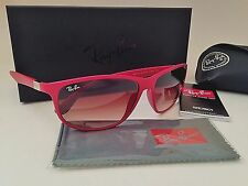 Ray-Ban Tech Wrap Sunglasses LiteForce Red Brown Gradient RB4213 New Authentic