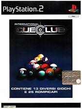 VIDEOGIOCO  PS2  SONY  CUECLUB