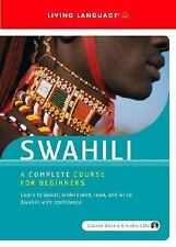 Swahili Complete Course for Beginners by Living Language