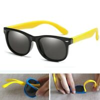 Rubber Frame Children Polarized Retro Eyewear Glasses Baby Goggles Boys Girls