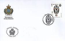 Busta Primo giorno FDC Annullo Speciale JUVENTUS 2016/2017UFFICIALE San Marino