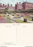 1970's THE POND GARDEN HAMPTON COURT PALACE MIDDLESEX UNUSED COLOUR POSTCARD