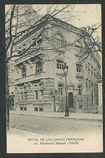 Paris  Hotel de l'Alliance Française  101, Boulevard Raspail
