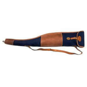 Rigby Blue Canvas Bolt Action Rifle w/Scope Slip Case