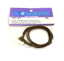 Integy RC Model SQ-SGC-59 Square R/C LiPo 2S Balance Charge Connector (300mm)