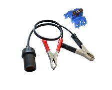 6Volt oder 12Volt Batterieanschlusskabel für Ladegeräte mit Stecker