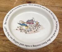 Peter Rabbit Wedgwood Beatrix Potter Cereal Bowl Childrens Porridge Mr McGregor