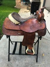 Bona Allen Western Saddle 15""
