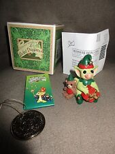 2003 Pocket Dragons New in Box Figurine Ornament Santa's Helpers, Real Musgrave