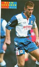 Alan Shearer (Blackburn Rovers) signed picture