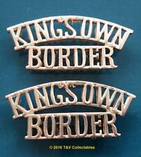THE KING'S OWN ROYAL BORDER REGIMENT (KORBR) SHOULDER TITLES