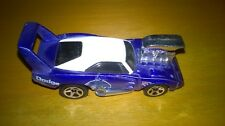 Voiture miniature Hot Wheels 69 Dodge Daytona bleue