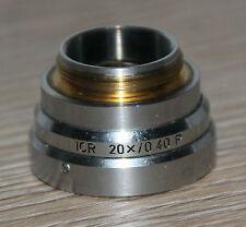 LEITZ Microscope microscope ICR prisme ICR 20x/0,40 p