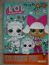 LOL Surprise Colouring Book Colouring Fun Book Brand New RRP £3.99