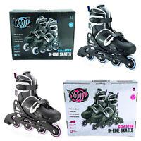 Xootz Girls Boys Inline Skates Padded Roller Blades Boots Blue Purple UK Kids