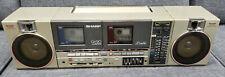VINTAGE SHARP QT90 CASSETTE RADIO BOOMBOX