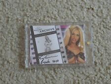 2009 Benchwarmer Authentic Archive Autograph Julianna Prada