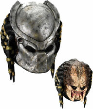 Morris Costumes Unisex Predator Helmet Dreadlocks Deluxe Latex Mask. RU4149