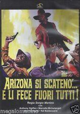 Dvd **ARIZONA SI SCATENO'...E LI FECE FUORI TUTTI** di Sergio Martino nuovo 1970