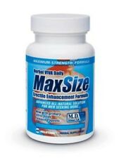 Max Size 60Pc Bottle,Adult Men Kinky Bedroom Foreplay Sex Pills Supplements, New