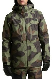 New The North Face Mens XXL Thermoball Eco Snow Triclimate Camo 3-in-1 Jacket